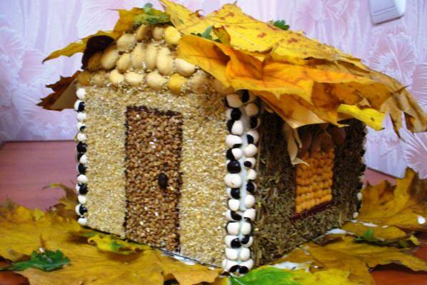 Поделка на тему золотая осень своими руками в детский сад