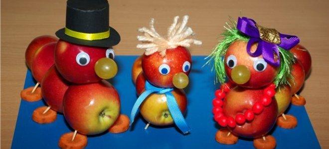 поделки к яблочному спасу в детский сад