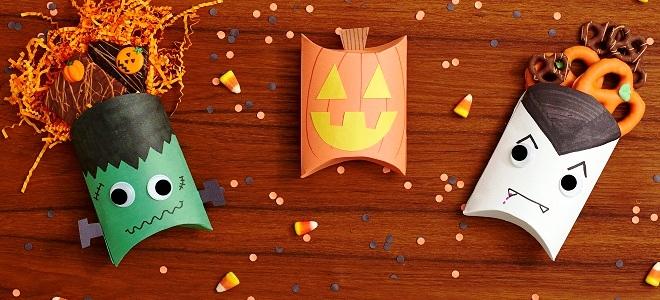 Как сделать из бумаги что то на хэллоуин