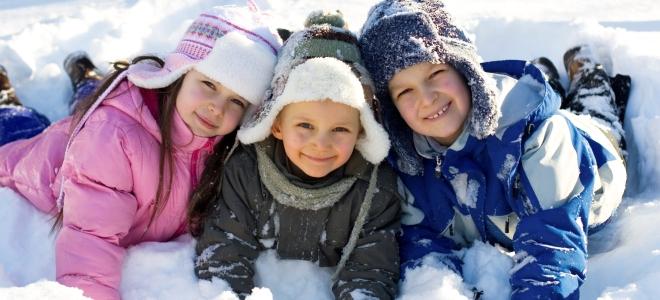 зимние конкурсы для детей на улице