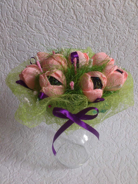 Цветы из гофрированной бумаги своими руками - Мир Позитива 59