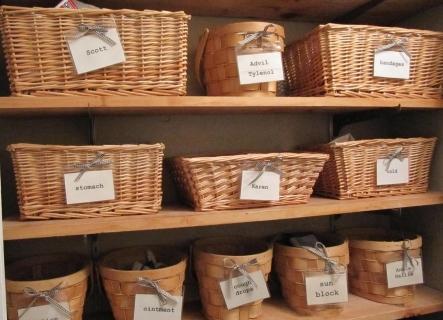 Плетеные ящики для овощей и фруктов