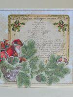 Как сделать скрапбукинг-открытку на Новый год?