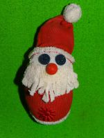 Дед Мороз из носка