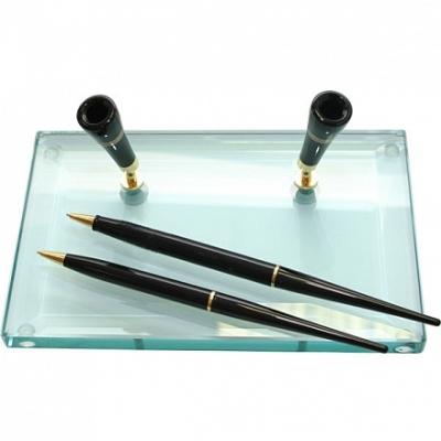 Ручки с подставкой звезда