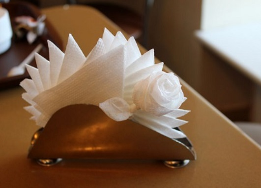 Как украсить салфетницу