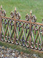 Металлические газонные ограждения