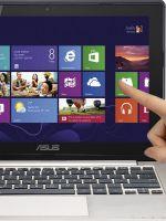 Ноутбук с сенсорным экраном