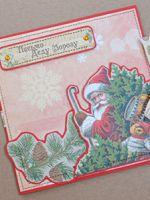Как сделать открытку Деду Морозу своими руками?
