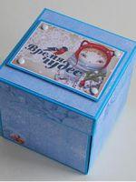 Открытка-коробочка своими руками - оригинальный подарок для близких