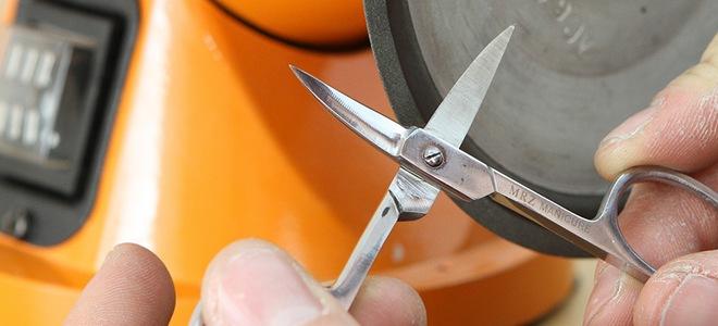 Наточить ножницы в домашних условиях 137