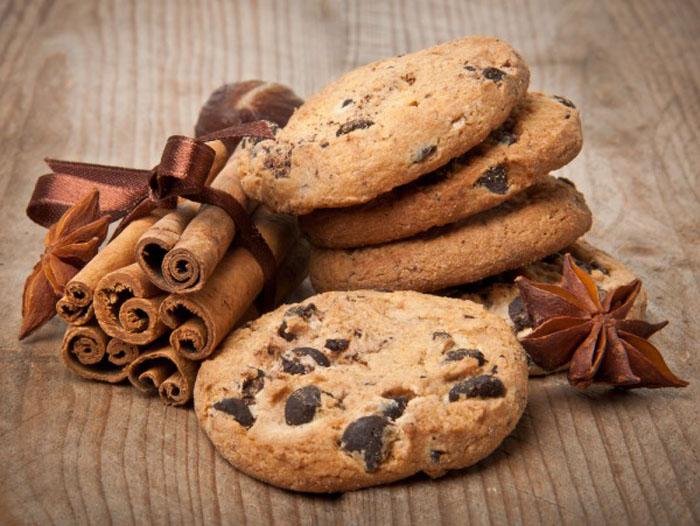 Американские печенья с кусочками шоколада