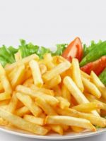Картофель фри в микроволновке