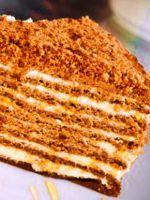 Крем для медового торта