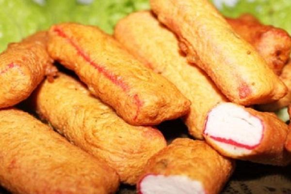 Жареные крабовые палочки в кляре рецепт с фото пошагово