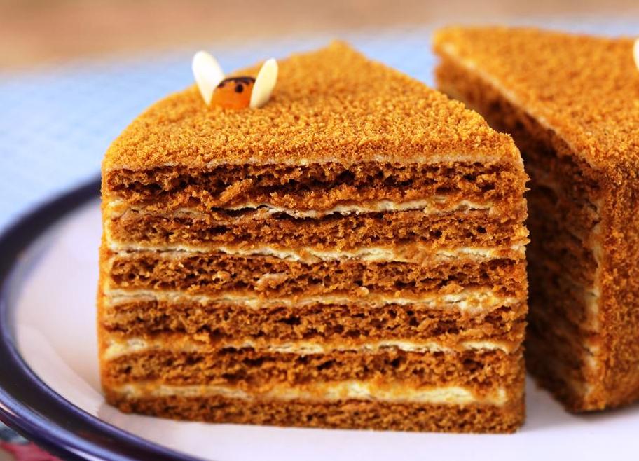 торт медовый коржами рецепт в домашних условиях