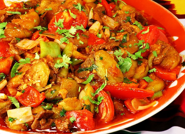 Оформление салатов порционных