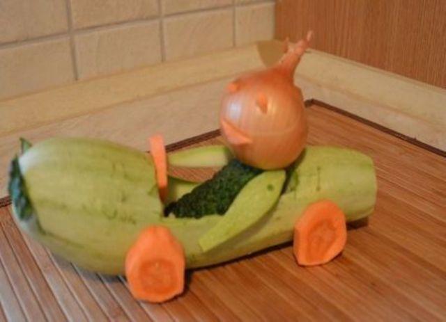 Ютуб поделки из овощей