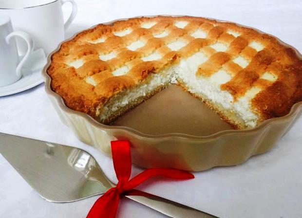 Песочный пирог с майонезом