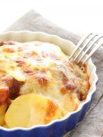 Картофель по-французски с мясом в духовке