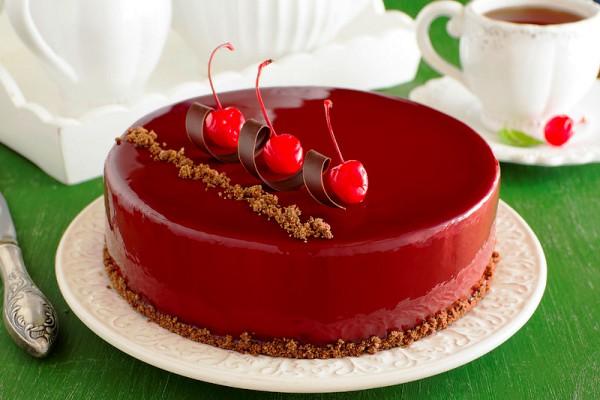 рецепты цветной глазури для торта