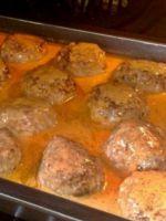 Соус для тефтелей в духовке