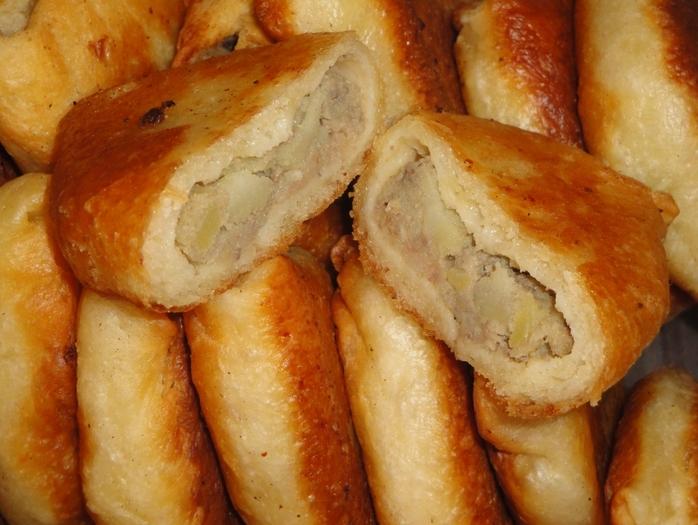 Пирожки мягкие пышные рецепт с пошагово