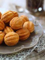 «Орешки» со сгущенкой - классический рецепт