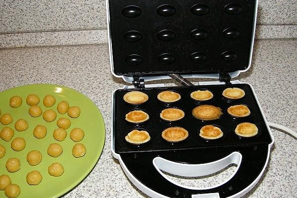 Рецепт теста орешков для электрической орешницы
