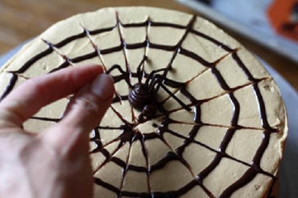 Как сделать паук для торта 612