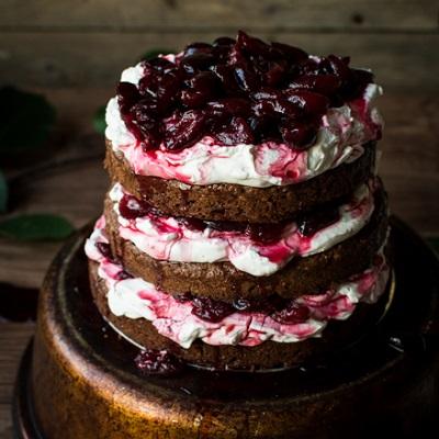 торт пьяная вишня классический пошаговый рецепт с фото