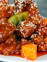 Курица по-китайски в кисло-сладком соусе