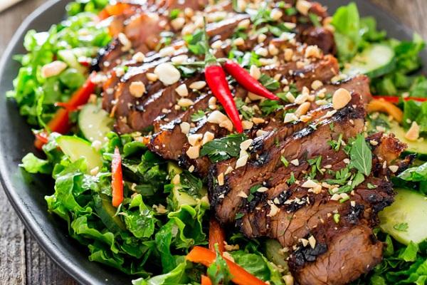 Салат из говядины и болгарского перца рецепт с
