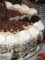 Торт негр в пене классический рецепт с фото