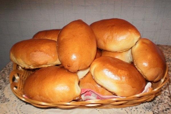 Пироги домашние сдобные с