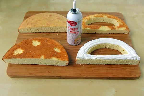 Торт в виде домика своими руками