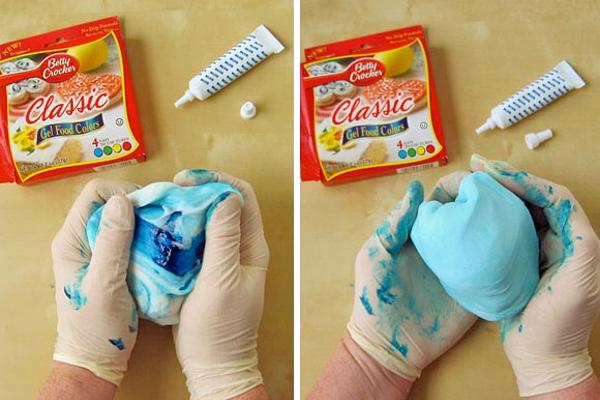 Мастика для торта своими руками цветная