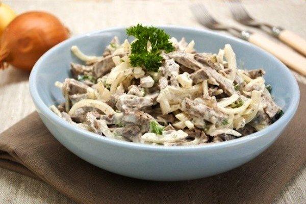 Говяжье сердце салат рецепты приготовления с
