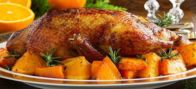 Рецепт утка с апельсинами