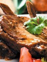 Тушеные свиные ребрышки - лучшие рецепты блюда