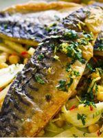 Скумбрия в фольге в духовке - оригинальные идеи запекания рыбы