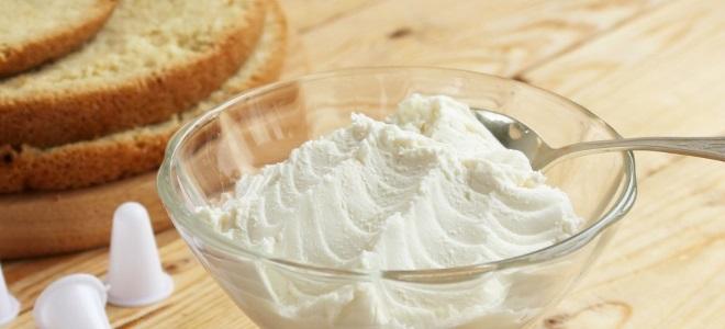 Творожный крем для украшения торта