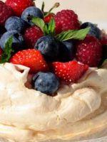 Пирожное безе - самые вкусные рецепты легкого и воздушного десерта