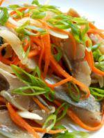 Селедка по-корейски - самые вкусные рецепты оригинальной пикантной закуски