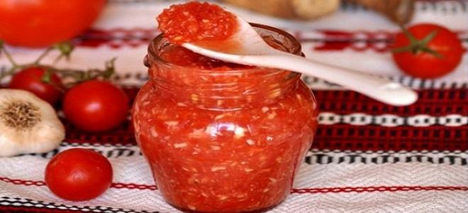 Аджика с томатным соком