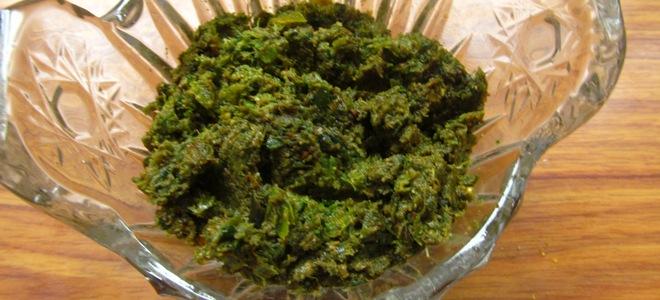 аджика зеленая абхазская рецепт