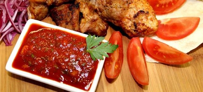 Армянский соус к шашлыку - рецепт