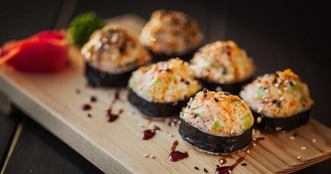 рецепт запеченного ролла аяши
