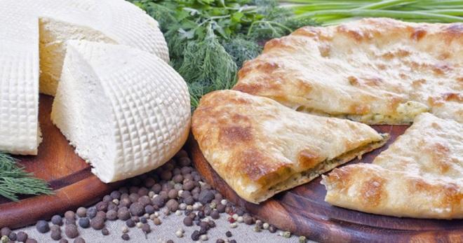 хачапури с сыром рецепт с фото в духовке на кефире
