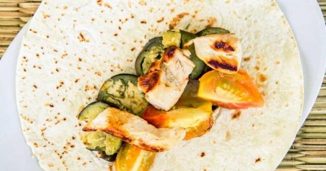 мексиканская тортилья рецепт с курицей